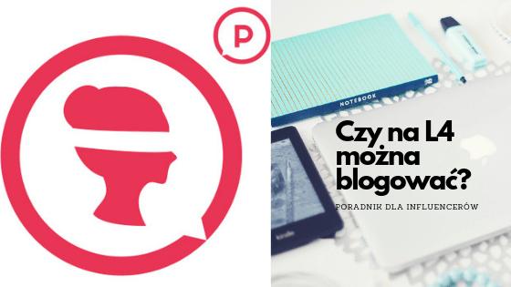Czy na L4 można blogować?