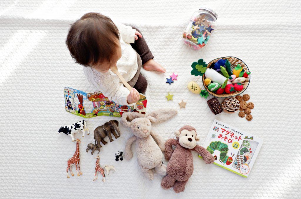 zabawki w żłobku