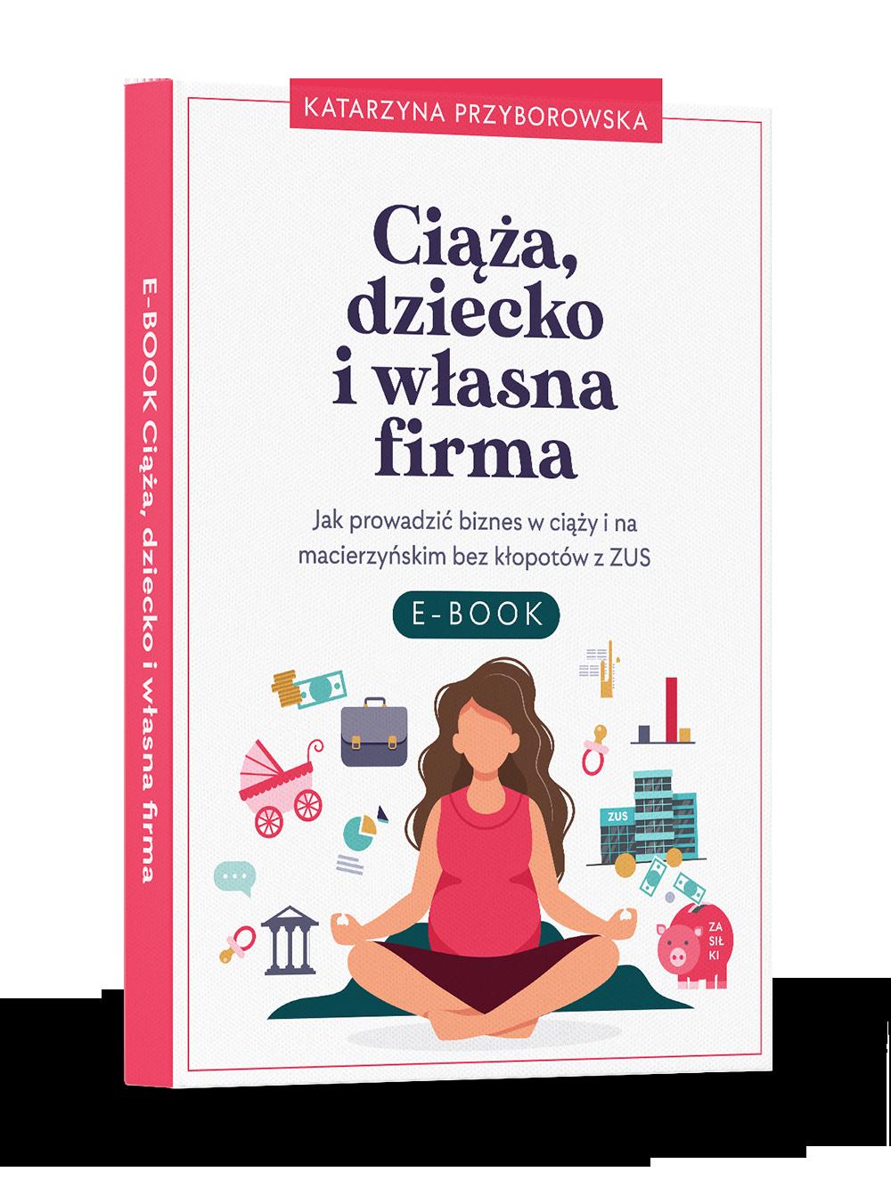 E-book ciąża, dziecko i własna firma
